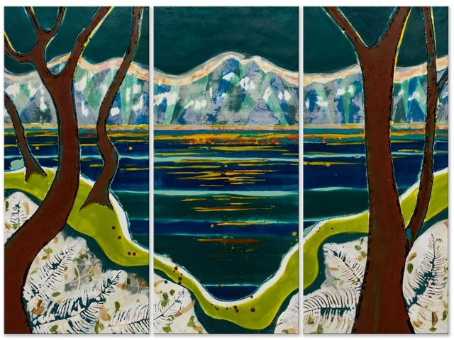 Reflection-Filled Distraction by Doris Kleemann-Fischer at Studio 103 at the Tashiro Kaplan Building