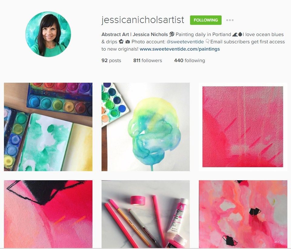 Perfecting your Artist Profile on Instagram (With images