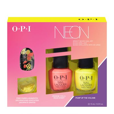 Opi Pump Neon Collection Nail Art Duo 2 2 X 15ml Limited