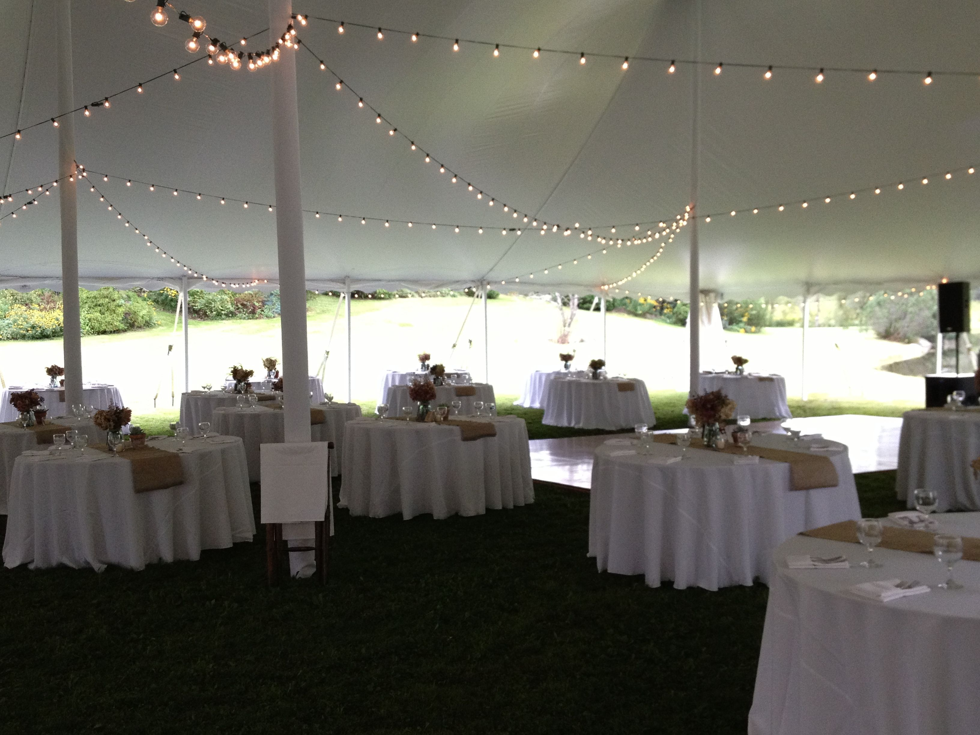 Outdoor wedding tent set up - the tent can be decorated however a bride u0026 groom & Outdoor wedding tent set up - the tent can be decorated however a ...