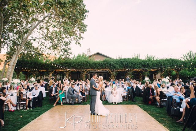 Beautiful Outdoor Reception At This Arroyo Trabuco Wedding