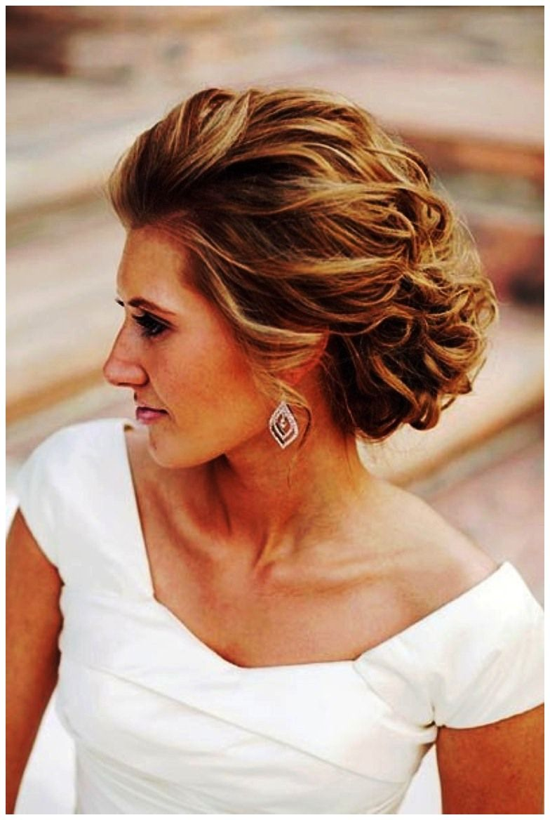 Pretty Style For Short To Medium Length Hair Mother Of The Bride Hair Short Wedding Hair Bride Hairstyles