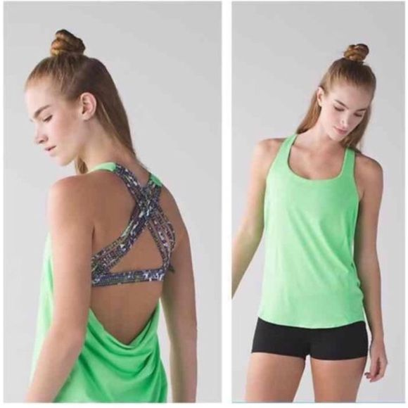 NWT Lululemon Wild Tank NWT Lululemon Wild Tank. Size 6. Brand new and in perfect condition! No longer sold in stores. No trades, no PayPal, but I do 10% discounts with bundles of 3+ items! Feel free to ask questions  lululemon athletica Tops Tank Tops