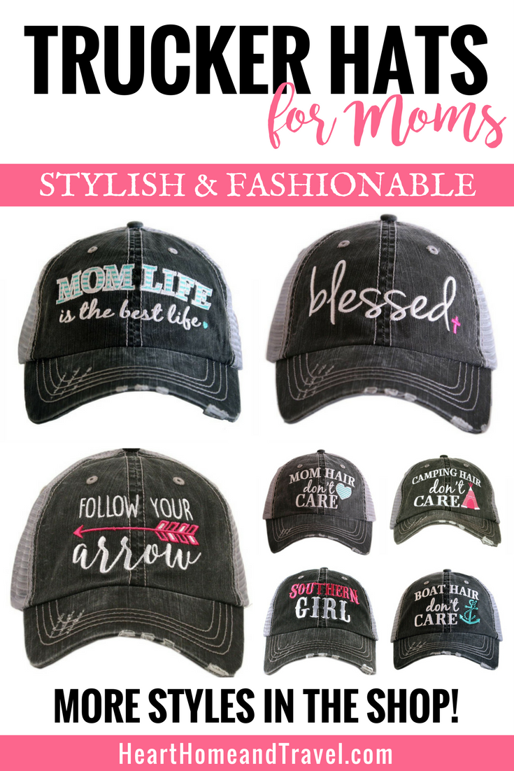 Super cute and fashionable trucker hats for women designed by Katydid. Shop  the online store for more styles including distressed trucker caps designed  just ... da1ada84e59