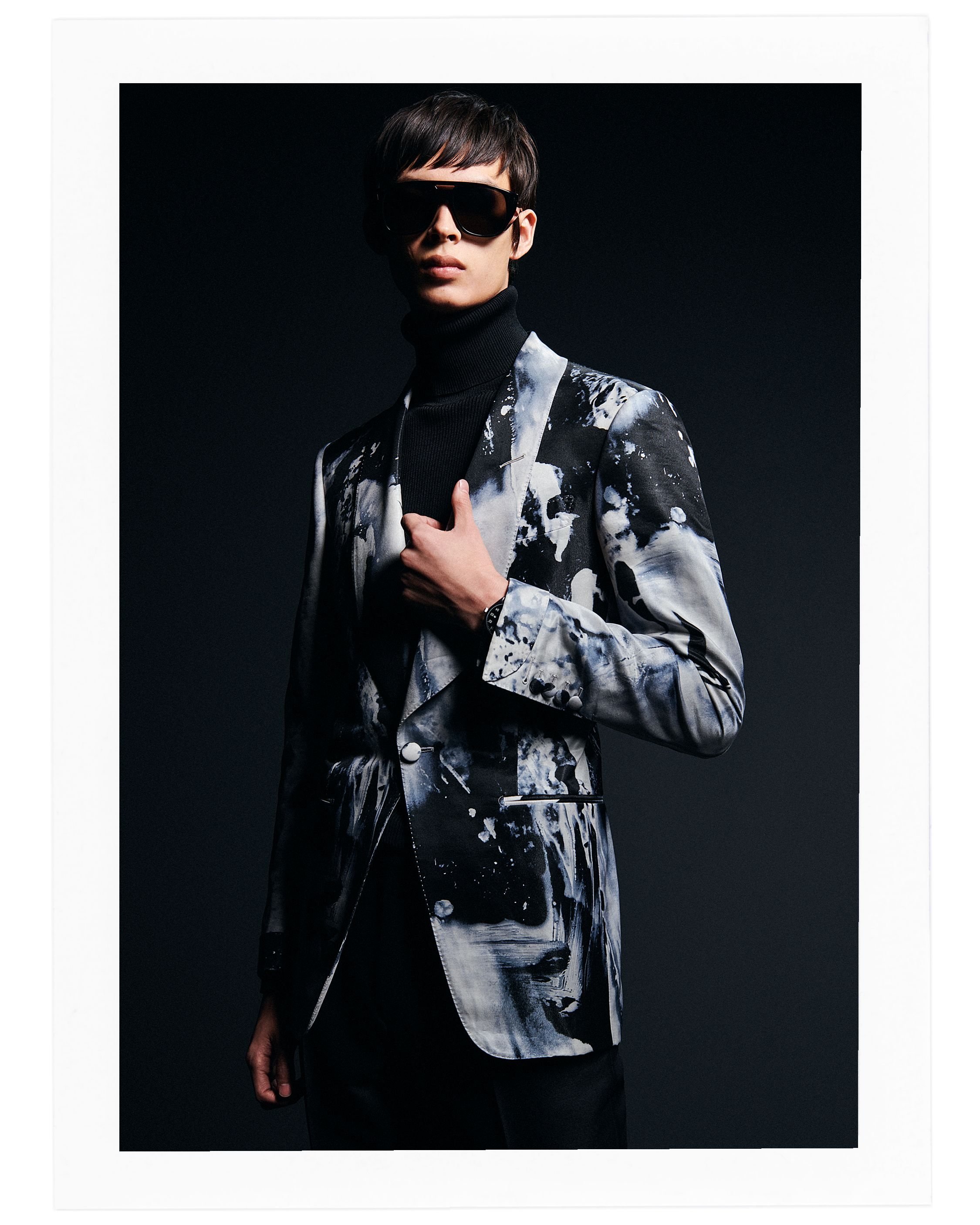 8afbd9794b19 A bold evening look from the TOM FORD Men s AW19 Collection.  TOMFORD   TOMFORDAW19  MFW