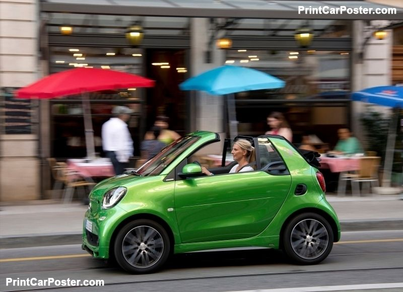 Smart Fortwo Cabrio Electric Drive 2017 Poster Id 1310498 Smart Fortwo Smart Car Benz Smart