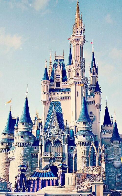 The Castles Of Disney Parks Disneyland 1955