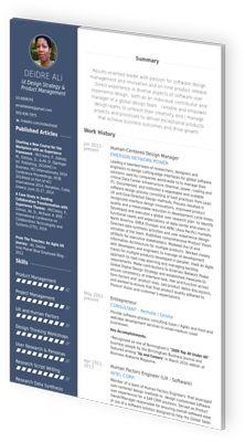 The Terrific Cv Maker Professional Cv Examples Online Cv