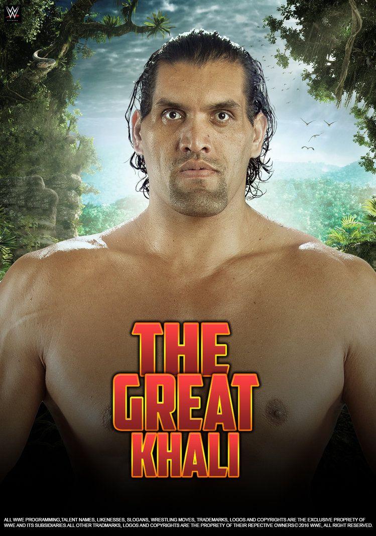 Wwe The Great Khali 2016 Poster By Edaba7deviantartcom On