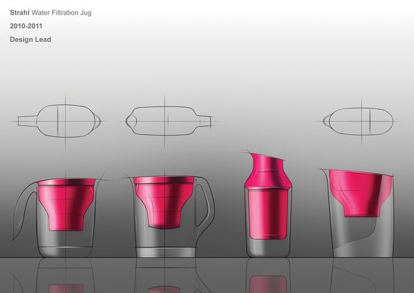 Sketches we like / Digital Sketch / transpancy / Water Filtration Jug on the Behance Network @Behance.net
