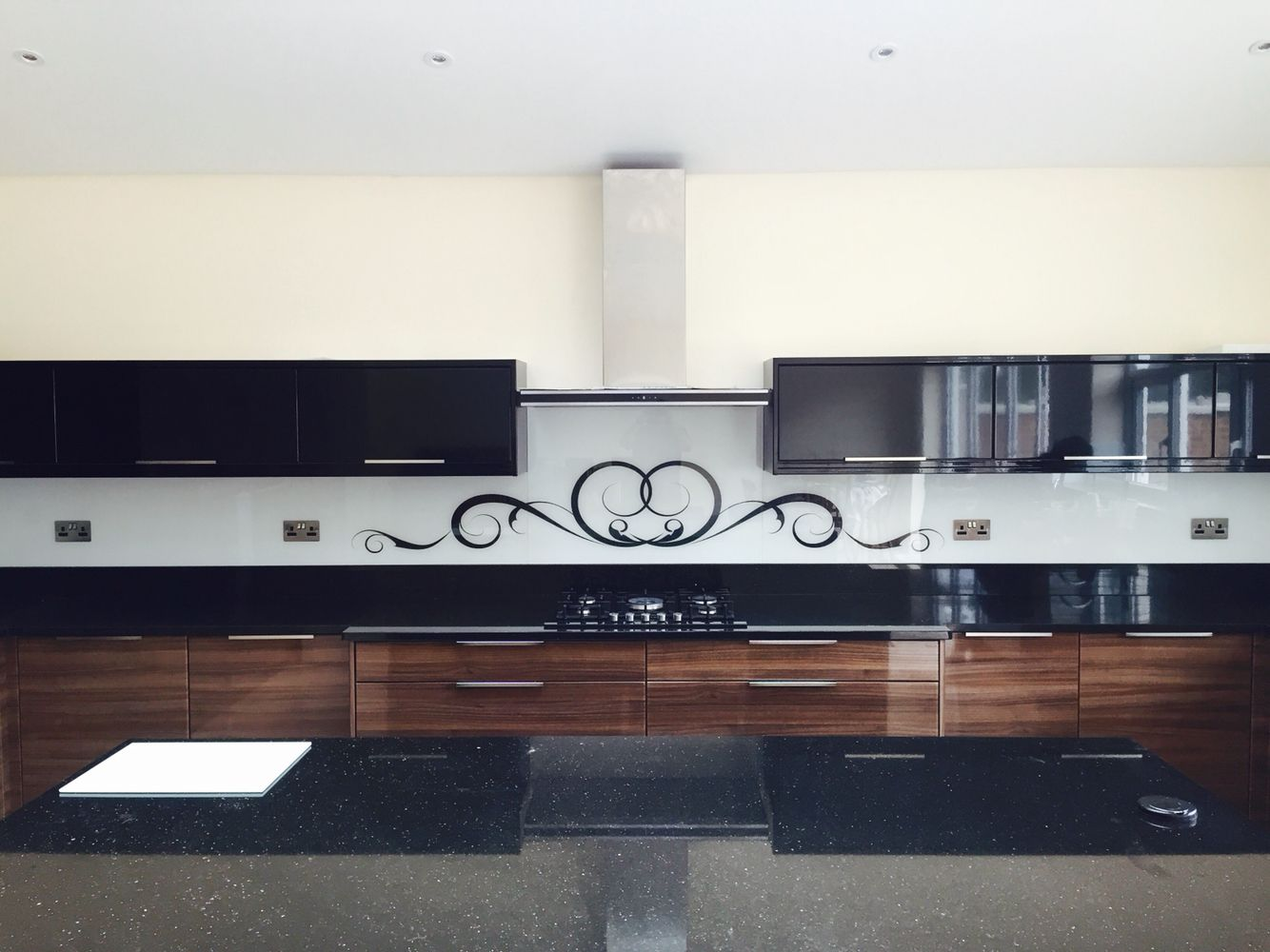 For Kitchen Splashbacks Swirls Glass Kitchen Splashbacks By Creoglass Design London Uk