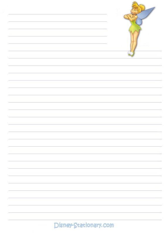 Disney stationary - Stationary Photo (223202) - Fanpop - printable lined notebook paper