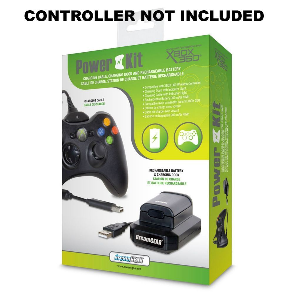 DG-DG360-1708 Power Kit (3 in 1) Compatible with Xbox 360