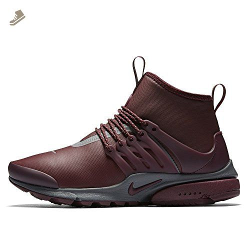 Nike Womens Air Presto Mid Utility Night Maroon 859527-600 - Nike sneakers for women (*Amazon Partner-Link)