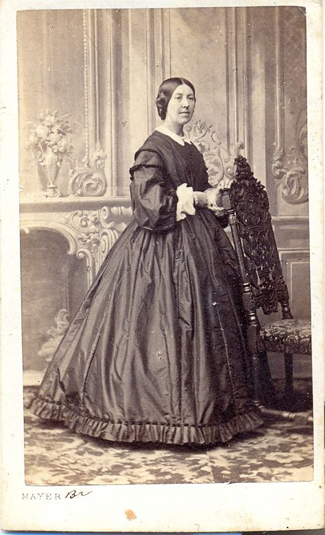 Carte de visite. Collection: Harrogate Museums/Royal Pump Room.