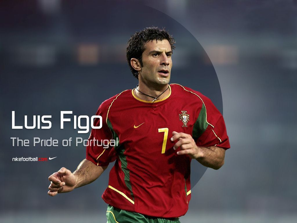 big sale 58bb2 61846 Luis Figo - The pride of Portugal. Have his jersey | Famous ...