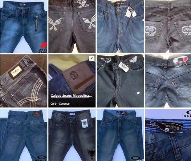 6bfdf9e7e2 Calças Jeans Masculinas - 5 Peças marcas famosas.