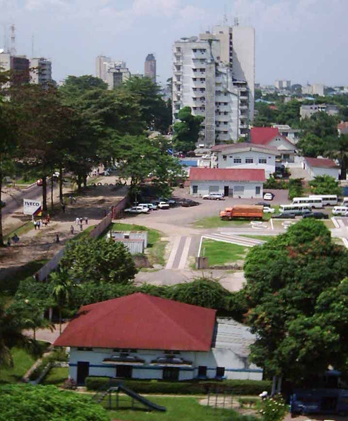 Kinshasa capital city of Congo