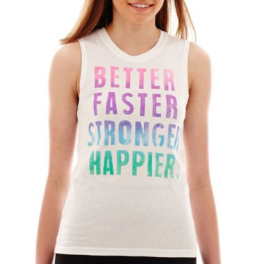 9da5ed976ee39 Chin-Up Graphic Tank Top found at  JCPenney