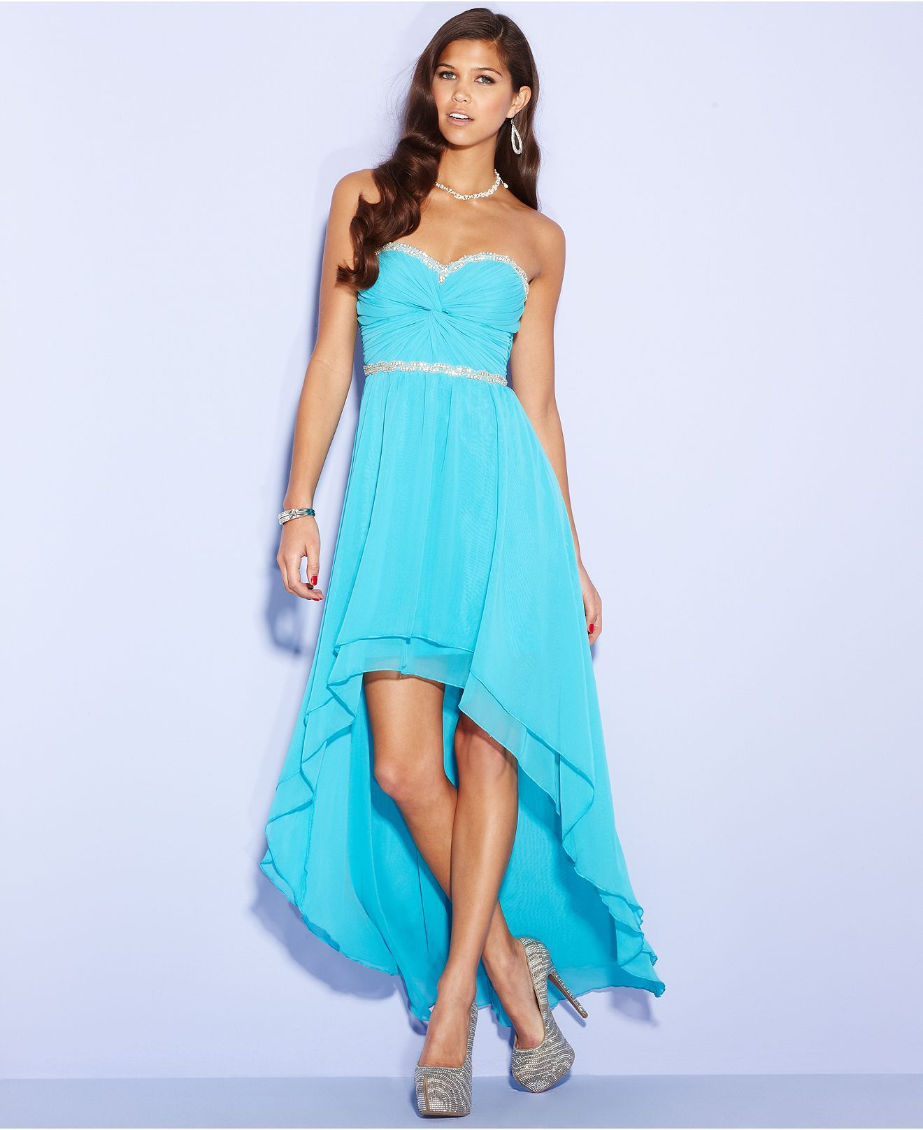 00508e53844d High Low Prom Dresses Macys