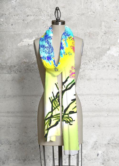 Cashmere Silk Scarf - Innocence Silk Scarf by VIDA VIDA gCVTk