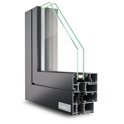 hueck lambda 65 m fenstersystem w rmeged mmtes aluminium fenster mitteldichtung hohlkammer. Black Bedroom Furniture Sets. Home Design Ideas