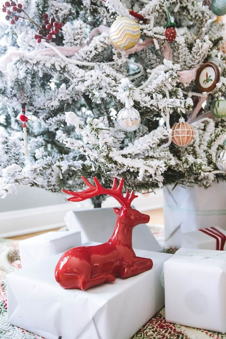 A Christmas Tree That S New And Old The Home Depot Blog Christmas Tree Christmas Decorations Whimsical Decor