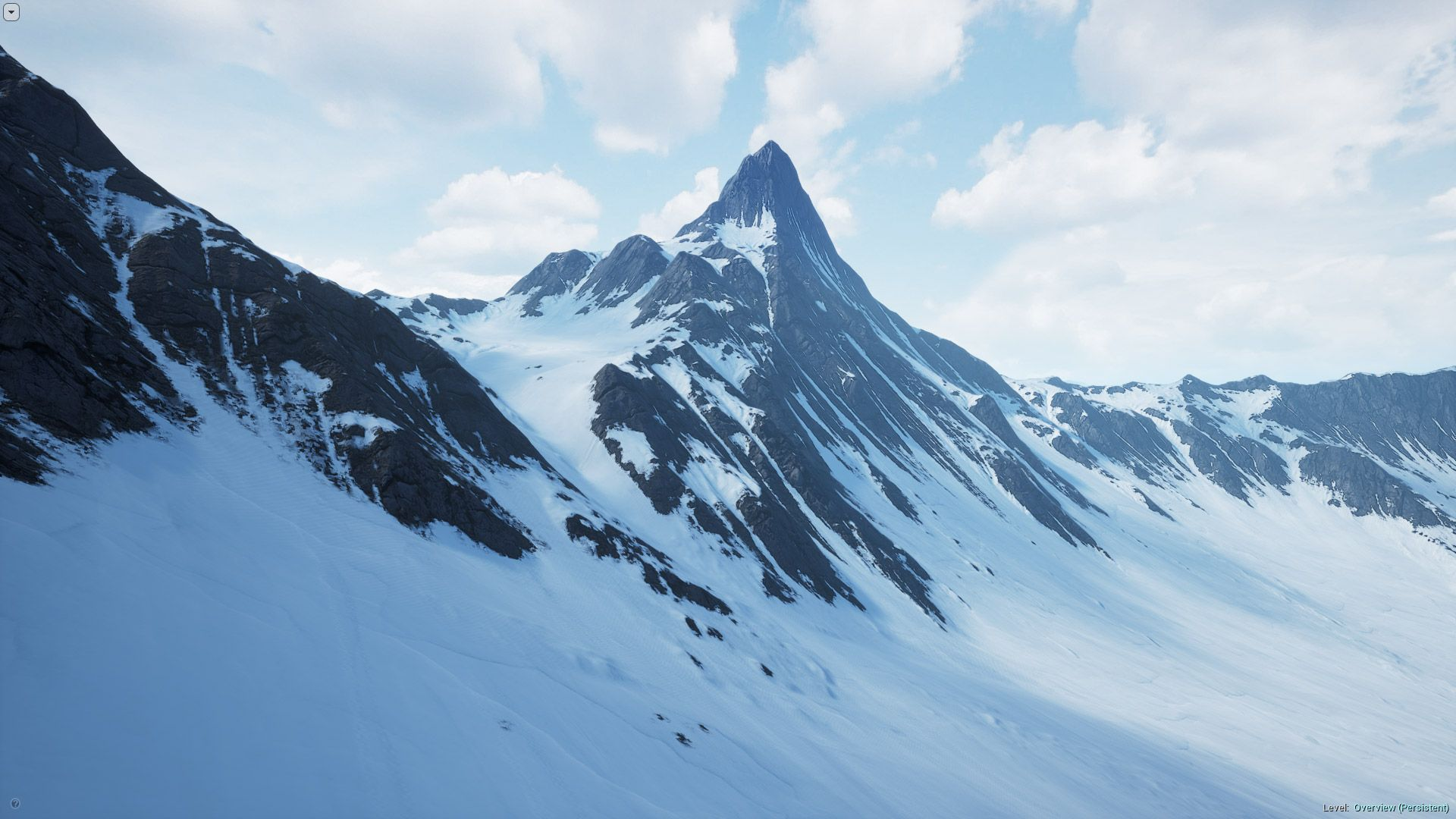 Snowy Mountains Landscape By Pixel Perfect Polygons In 环境 Ue4 Marketplace Arctic Landscape Mountain Landscape Landscape