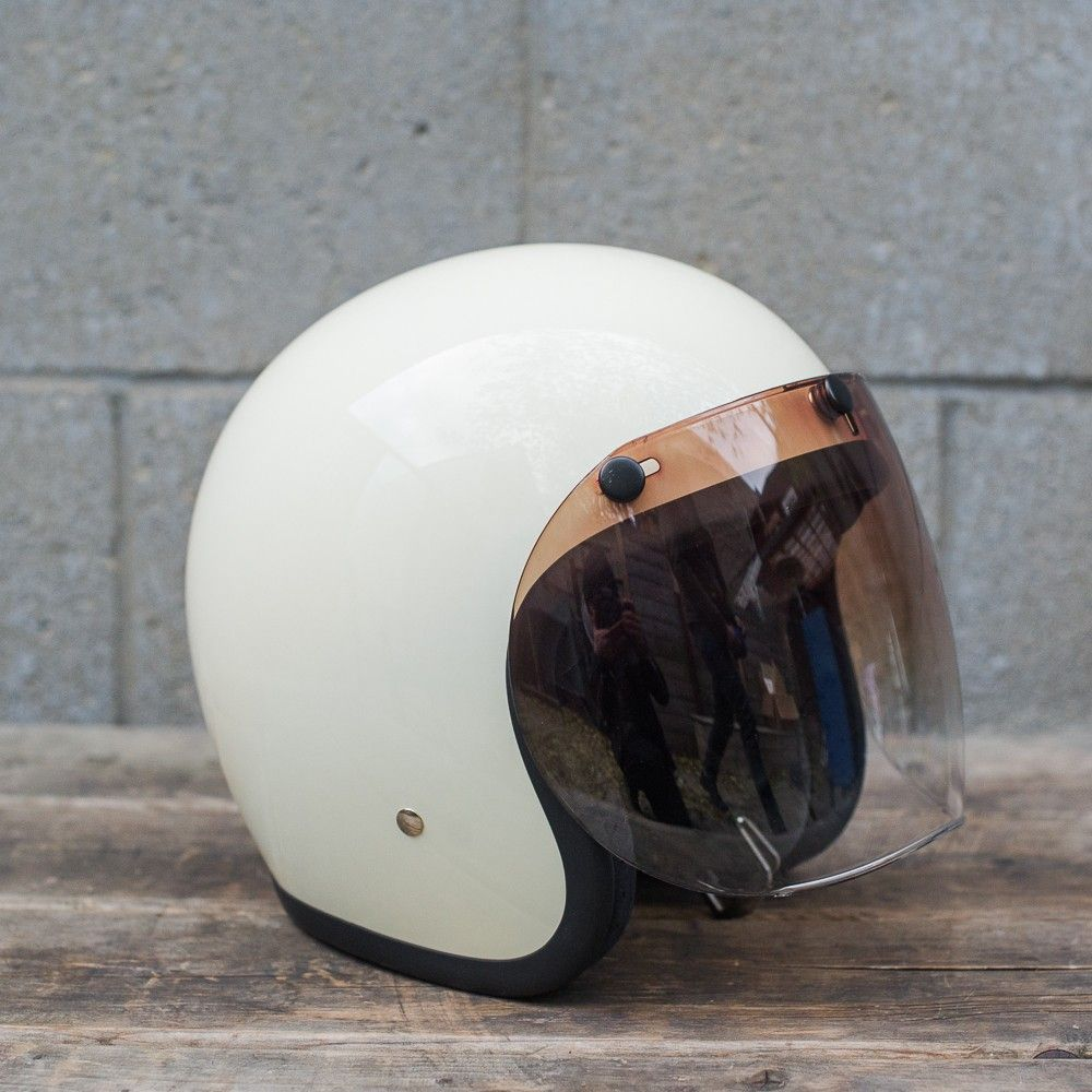 Bell 3 Snap Retro Shield Amber Gradient Motorcycle