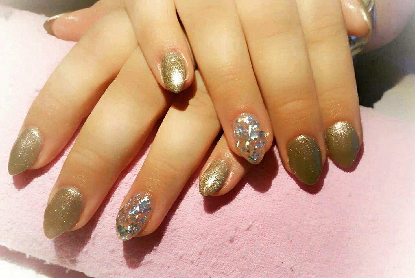 acrylic nails sand color glitter ideeà n pinterest glitter