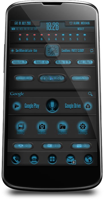 [UCCW][THEME][WIDGET] UCCW 2.0 skins and themes Page 874