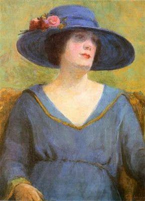 Blue Hat - Tarsila do Amaral, 1922