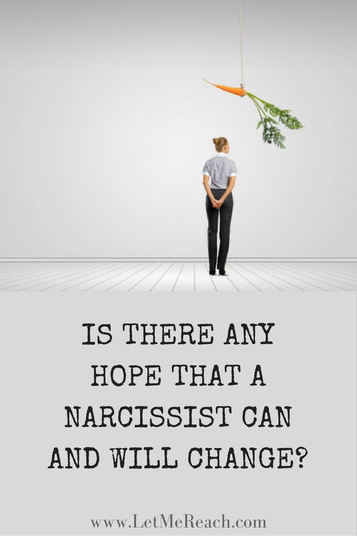 Is there hope for a narcissist