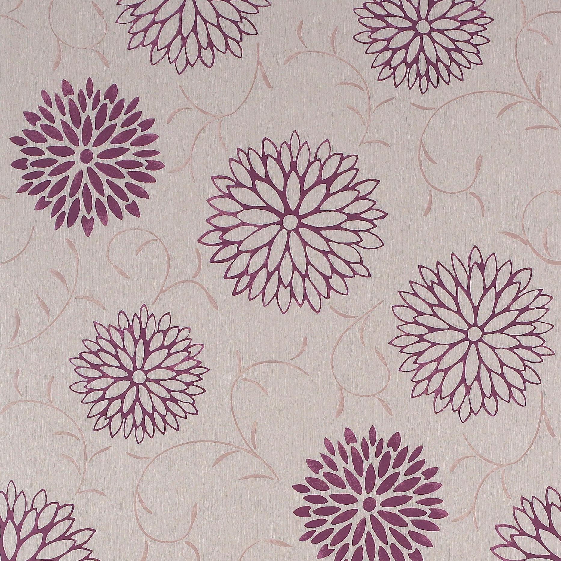 Home diy wallpaper illustration arthouse imagine fern plum motif vinyl - Colours Paste The Wall Romantic Shimmer Effect Raspberry Wallpaper Image 1