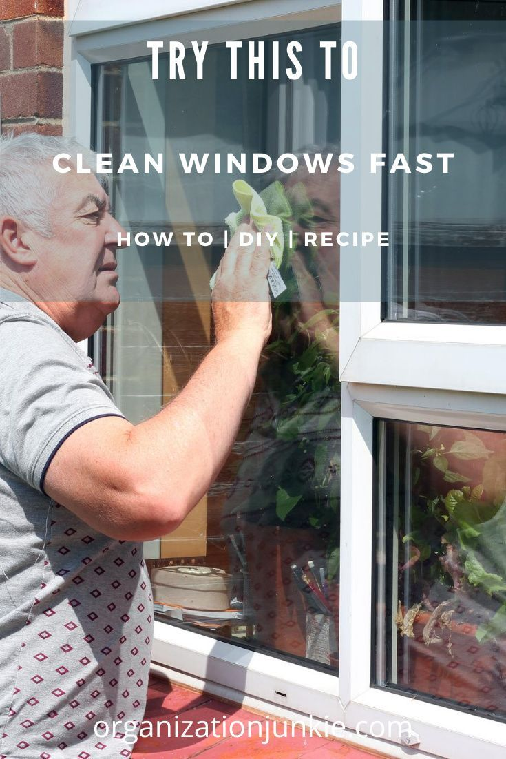 Best ever homemade window cleaner that works like a charm