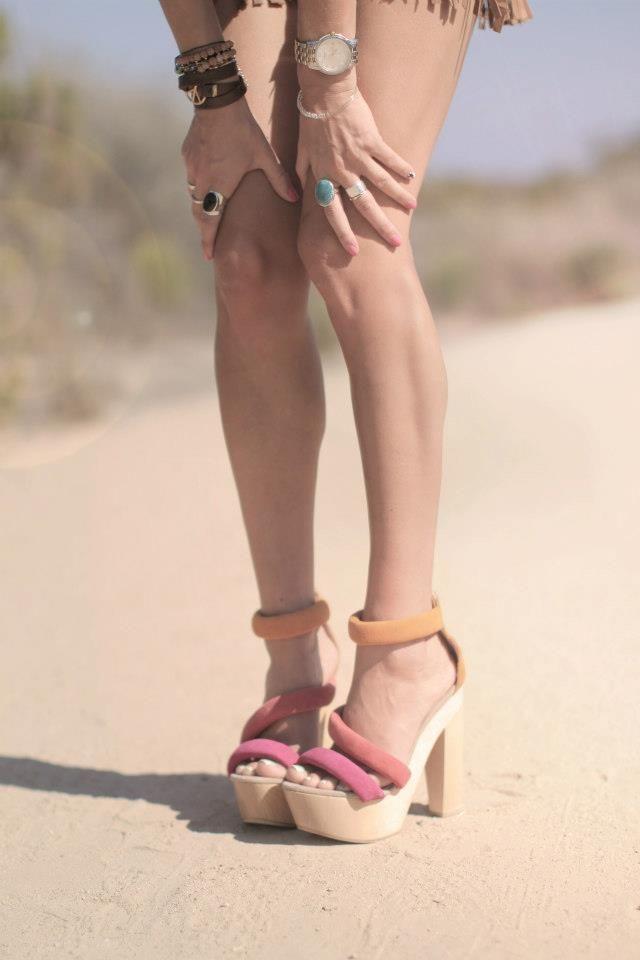 She is so stylish she makes us blush... @Tobruck Ave is #Style #Mala #Fashion #Indy #Boho #Fringe