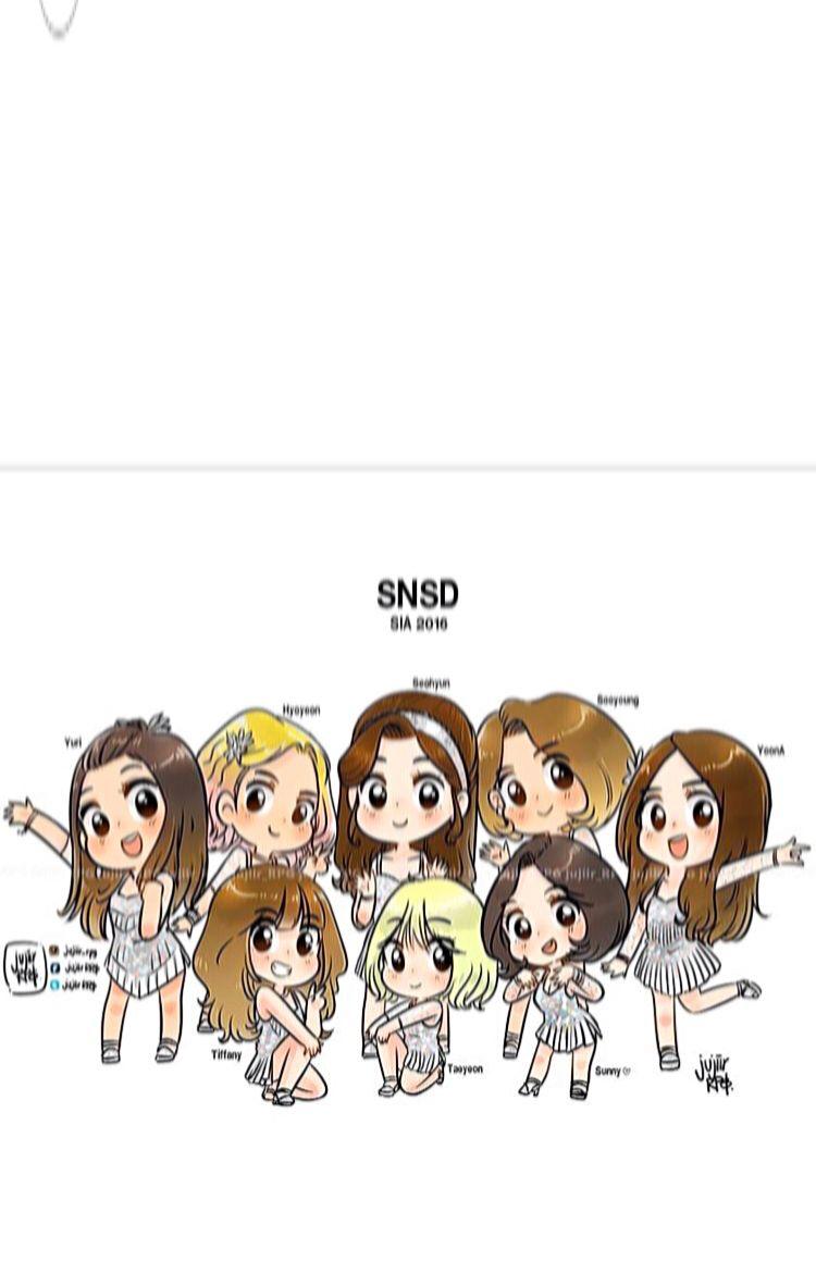Style Icon Asia 2016 Snsd Girls Generation Iphone Wallpapers Girls Generation Korean Girl Band Chibi