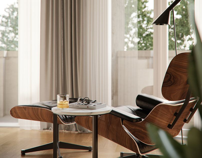 Hotel Switzerland On Behance In 2020 Eames Lounge Chair Eames Lounge Home Decor