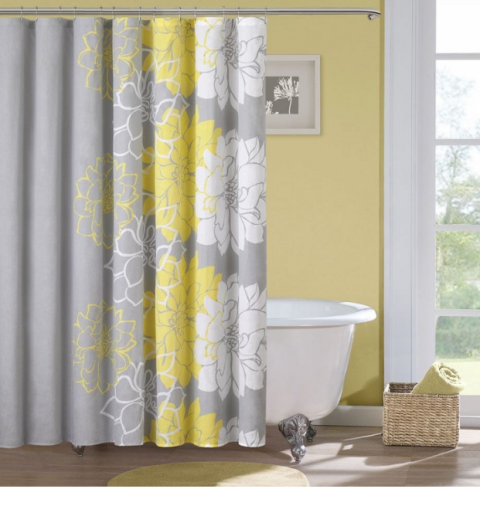 Page Not Found Gray Shower Curtains Yellow Shower Curtains