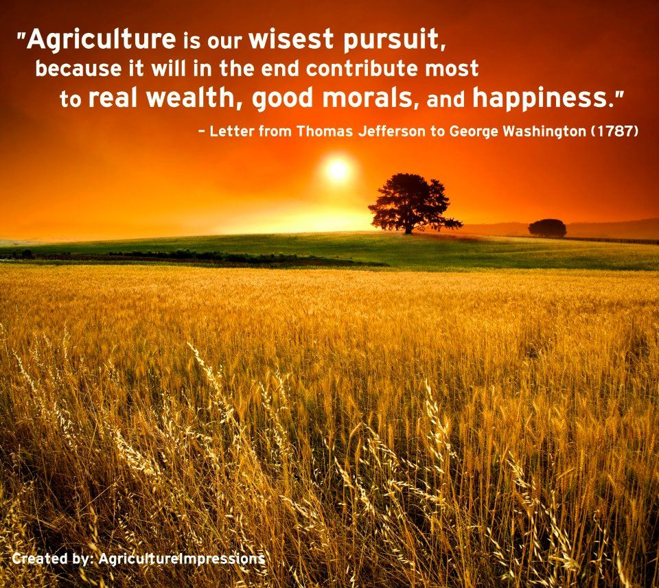 Farming Quotes: Farming And Agriculture Quotes On Pinterest