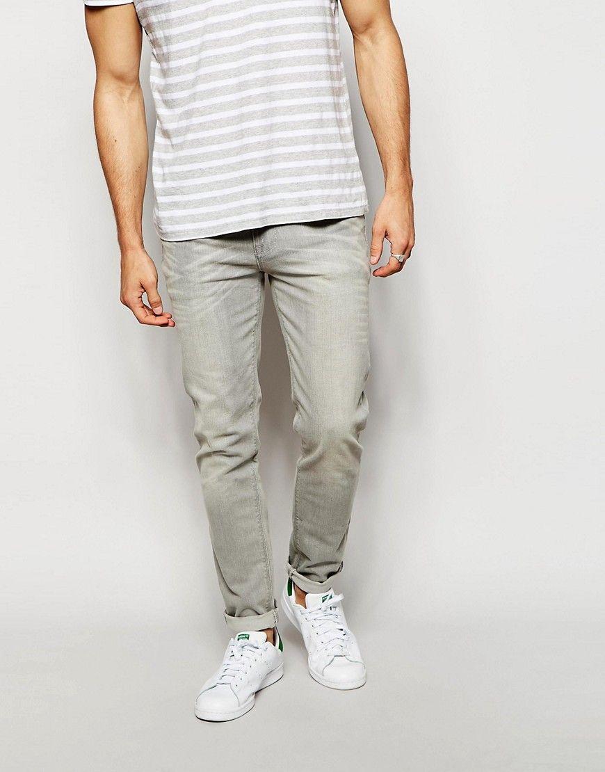 ASOS+Skinny+Jeans+In+Light+grey