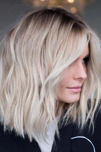 18 Medium Length Hairstyles For Thick Hair In 2020 With Images Thick Hair Styles Medium Length Hair Styles Medium Long Hair
