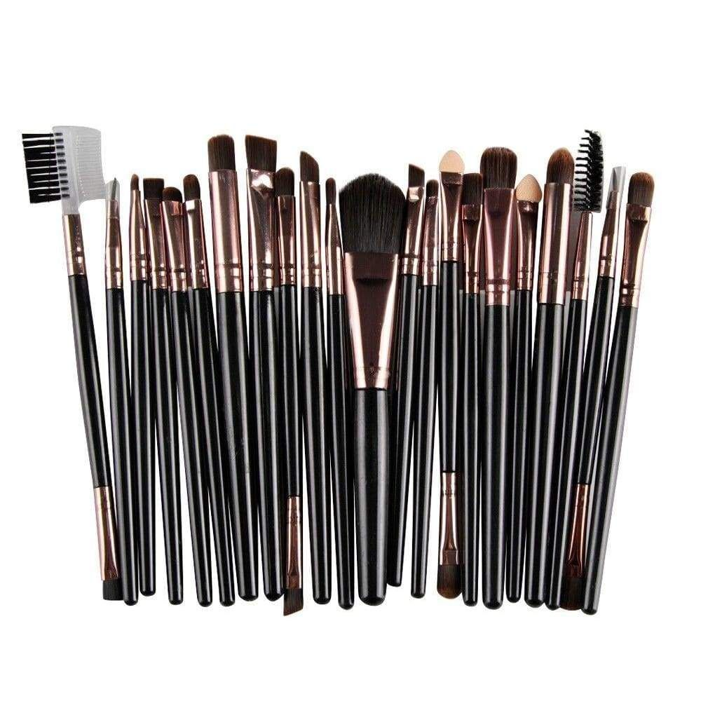 22Pcs/Set Makeup Brush Tools Makeup Toiletry Kit Wool