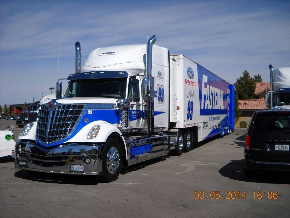 74 Best Race Car Haulers Images On Pinterest Semi Trucks Nascar