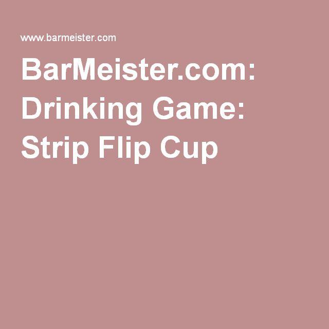 Cup flip strip