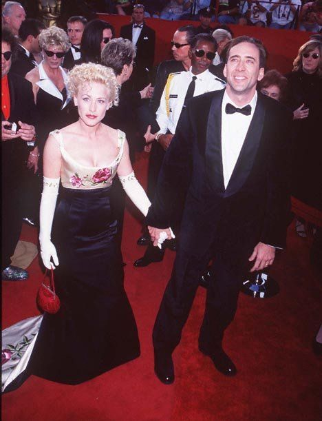 Oscars Best Red Carpet Photos Of All Time Patricia Arquette Nicolas Cage Celebrity Couples