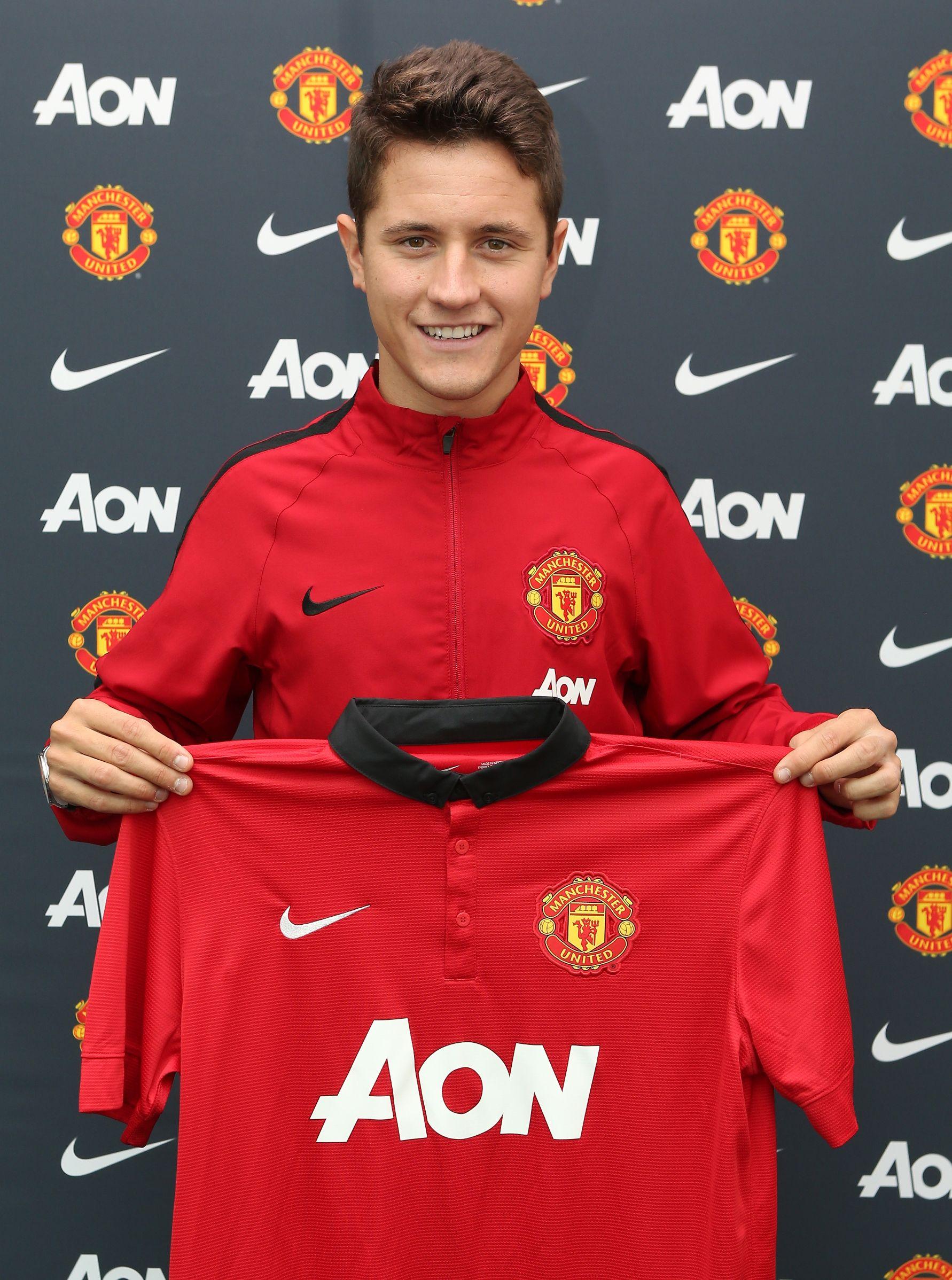 Club Statement On Ander Herrera Manchester United Manchester United Players Man Utd News