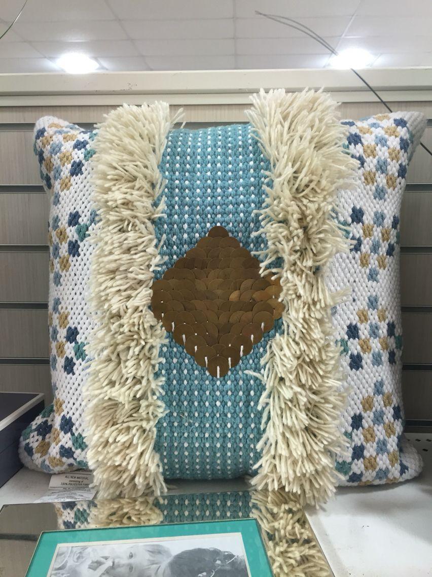 Decorative pillow | Seen at HomeGoods Store | Home goods ...