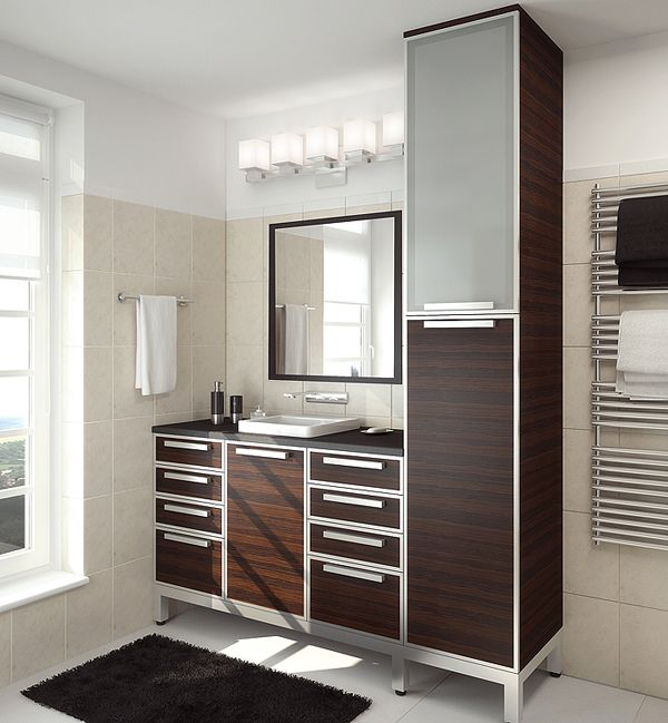 Aluminum Frame Cabinet Doors With Customer Installed Inserts And Satin  Glass Inserts