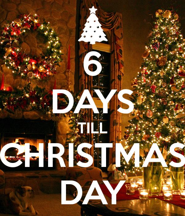 6 days till christmas Google Search Days till